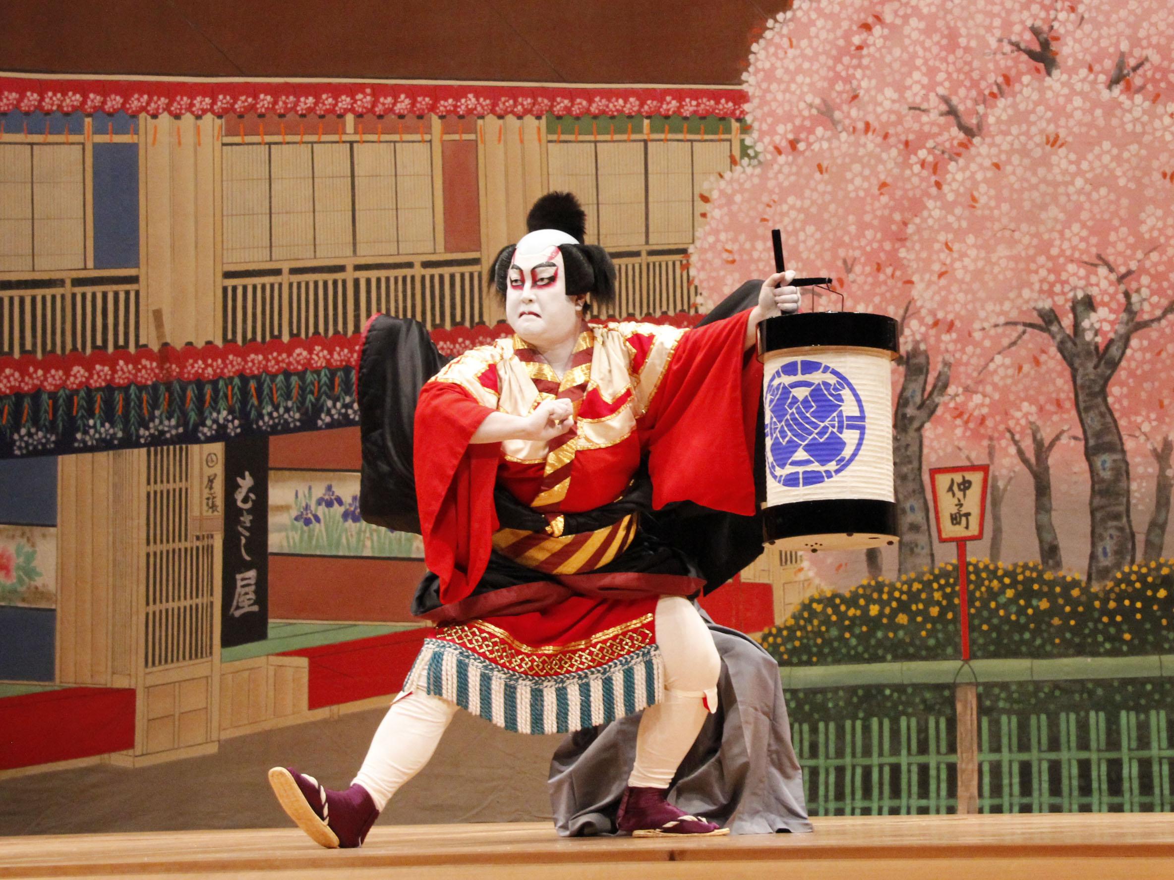 歌舞伎体験プログラム - 青少年...